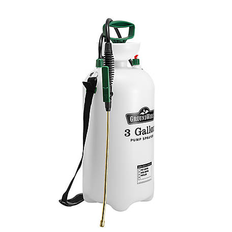 GroundWork Pump Sprayer, 3 gal. Capacity, LFSX-11B