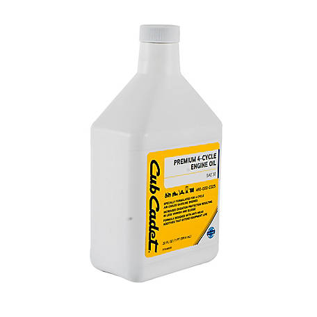 Cub Cadet Premium 4-Cycle Lawn Mower Engine Oil 900 Ser 20 oz., 490-000-C025