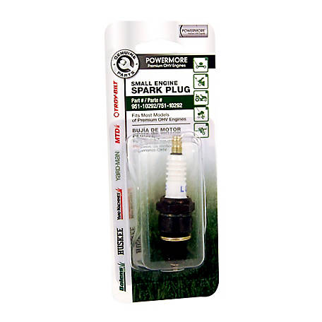 MTD Genuine Parts Spark Plug w/ 14mm Thread Diameter