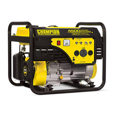 Champion Power Equipment 3,650-Watt RV Ready Portable Generator (CARB), 100217