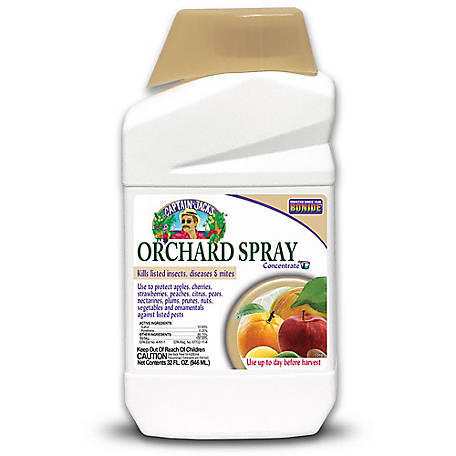 Bonide Orchard Insecticide & Fungicide Spray Concentrate, 32 oz., 2186