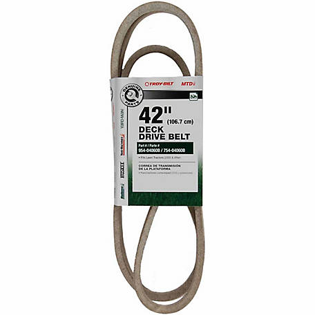 MTD Genuine Parts 42 in  Deck Drive Belt at Tractor Supply Co