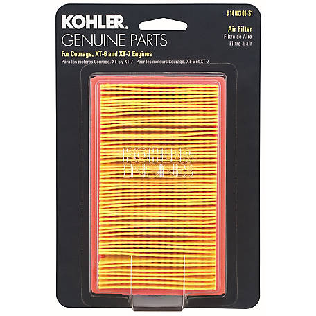 Kohler Air Filter, XT6-7-8, 14 083 01-S1