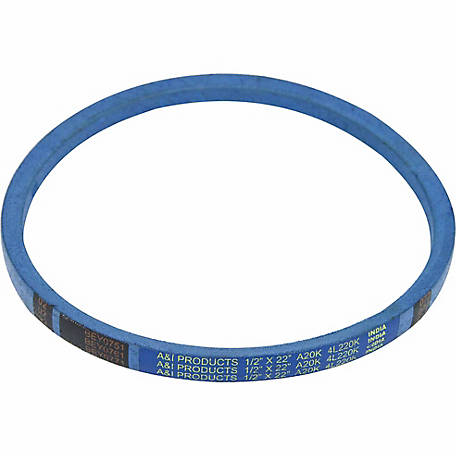 Huskee Blue Kevlar V-Belt, 1/2 in. x 22 in., A20K