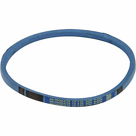 Huskee Blue Kevlar V-Belt, 1/2 in. x 25 in., A23K