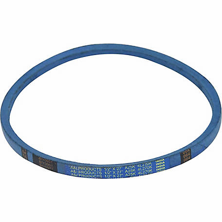 Huskee Blue Kevlar V-Belt, 1/2 in. x 27 in., A25K