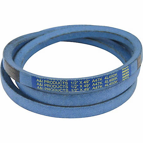 Huskee Blue Kevlar V-Belt, 1/2 in. x 49 in., A47K