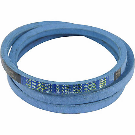 Huskee Blue Kevlar V-Belt, 1/2 in. x 52 in., A50K