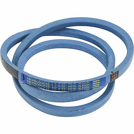 Huskee Blue Kevlar V-Belt, 1/2 in. x 53 in., A51K