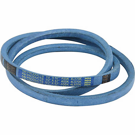 Huskee Blue Kevlar V-Belt, 1/2 in. x 57 in., A55K