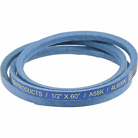 Huskee Blue Kevlar V-Belt, 1/2 in. x 60 in., A58K
