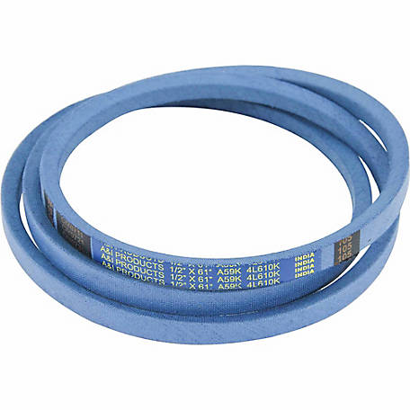 Huskee Blue Kevlar V-Belt, 1/2 in. x 61 in., A59K