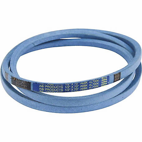 Huskee Blue Kevlar V-Belt, 1/2 in. x 70 in., A68K