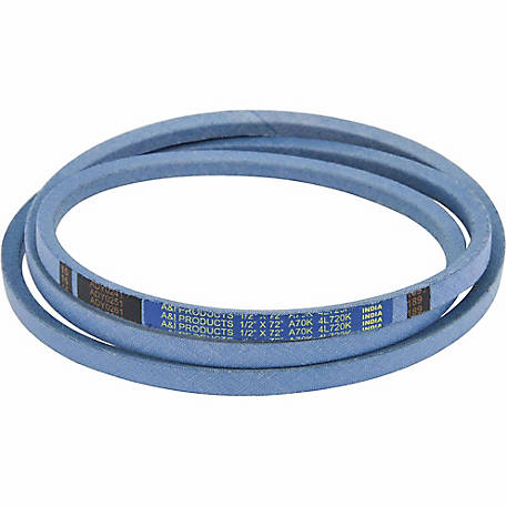 Huskee Blue Kevlar V-Belt, 1/2 in. x 72 in., A70K