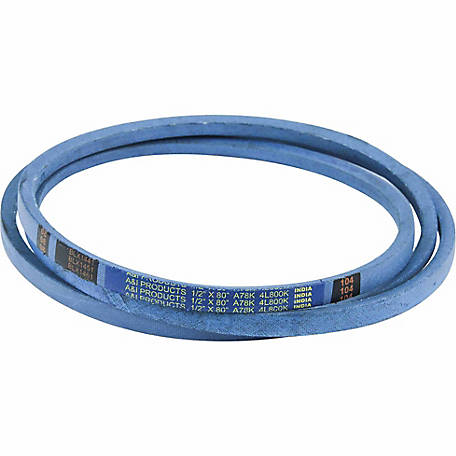 Huskee Blue Kevlar V-Belt, 1/2 in. x 80 in., A78K