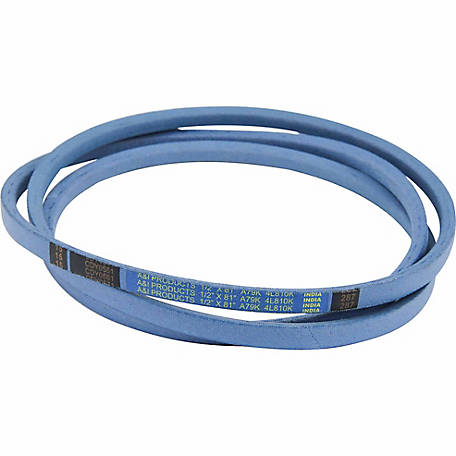 Huskee Blue Kevlar V-Belt, 1/2 in. x 81 in., A79K