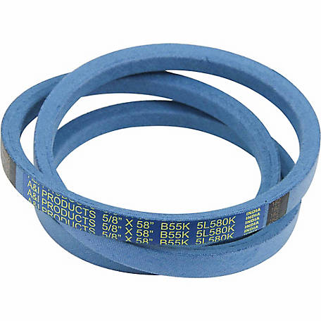 Huskee Blue Kevlar V-Belt, 5/8 in. x 58 in., B55K