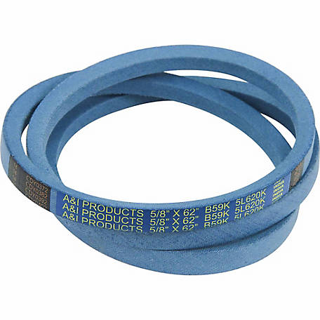 Huskee Blue Kevlar V-Belt, 5/8 in. x 62 in., B59K