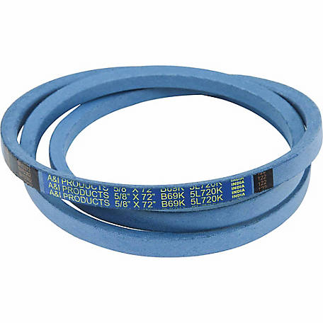 Huskee Blue Kevlar V-Belt, 5/8 in. x 72 in., B69K