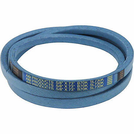 Huskee Blue Kevlar V-Belt, 5/8 in. x 73 in., B70K