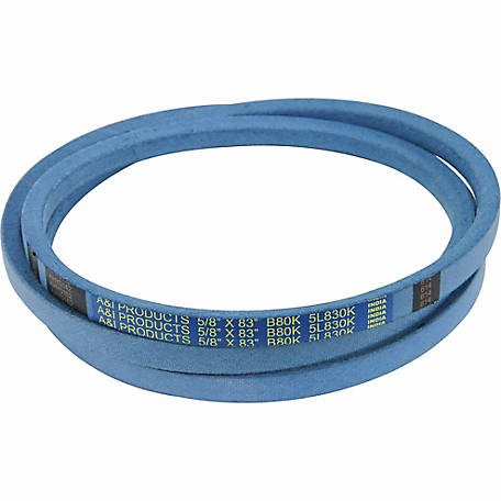 Huskee Blue Kevlar V-Belt, 5/8 in. x 83 in., B80K