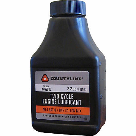 CountyLine 3.2 oz. 40:1 2-Stroke Engine Oil, Pack of 6