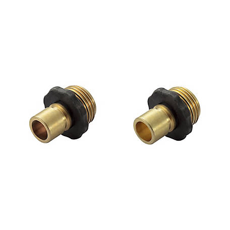 GroundWork 2-Piece Male Quick Hose Connect, GB-9424