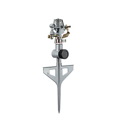 GroundWork Spike Base Zinc Pulsating Sprinkler, GS8170