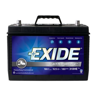 Exide Select Performance Heavy-Duty Battery, 31XHE | Tuggl