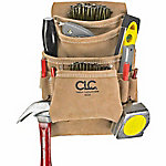 CLC 10 Pocket Carpenter's Nail & Tool Bag