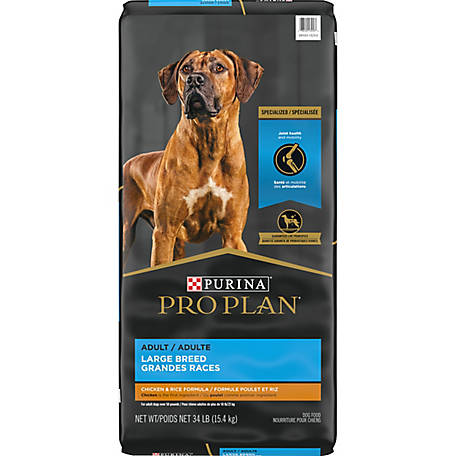 Purina Pro Plan FOCUS Large Breed Formula Adult Dry Dog Food - 34 lb. Bag