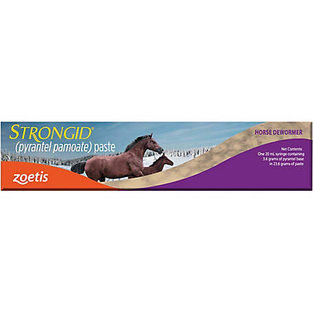 Strongid (pyrantel pamoate) Paste Bulk, 20 mLTube, 11913
