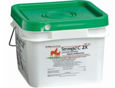 Buy Strongid C 2X (pyrantel tartrate) Equine Anthelmintic; 10lb pail Online
