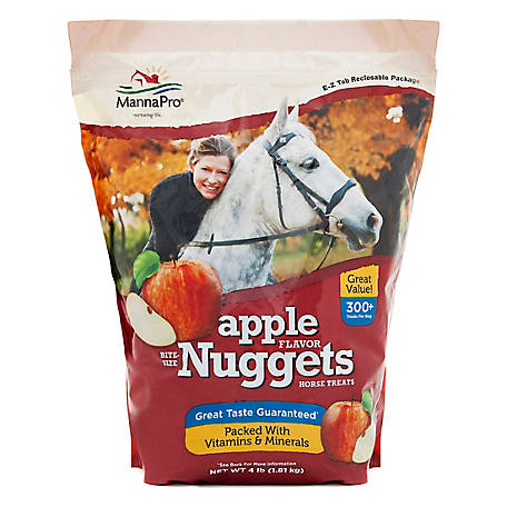 Manna Pro Apple Bite Size Nuggets, 4 lb.