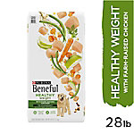 Purina Beneful Healthy Weight Dry Dog Food, Healthy Weight with Real Chicken, 28 lb. Bag