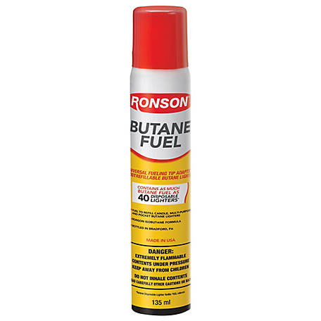 Ronson Multi-Fill Butane Fuel, 135ml, 99146