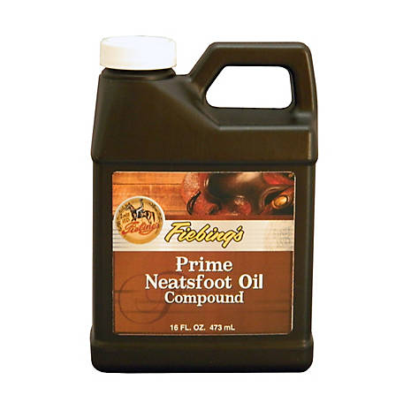Fiebing's Prime Neatsfoot Oil Compound, 16 oz., PNOCOOP16Z