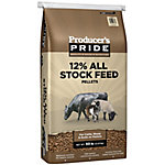 Producer's Pride 12% All Stock Feed, 50 lb.