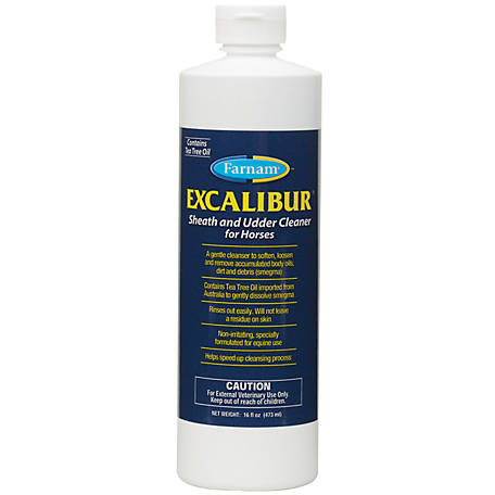 Farnam Excalibur Sheath & Udder Cleaner, 16 oz.