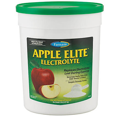 Farnam Elite Electrolyte Apple 5 Lb, 81110
