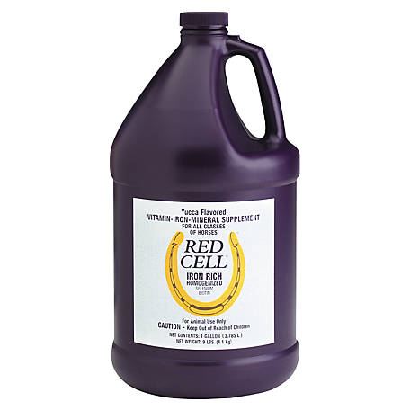 Horse Health Red Cell Iron Rich Supplement, 1 gal.