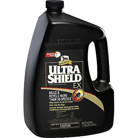 Absorbine UltraShield EX Insecticide & Repellent, 1 gal.
