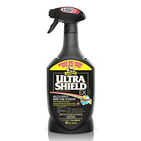 Absorbine UltraShield EX Insecticide & Repellent, 40 fl. oz.