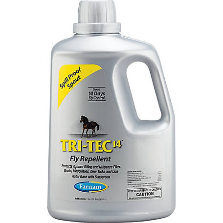 Farnam Tri-Tec 14 Fly Repellent, 1 gal.