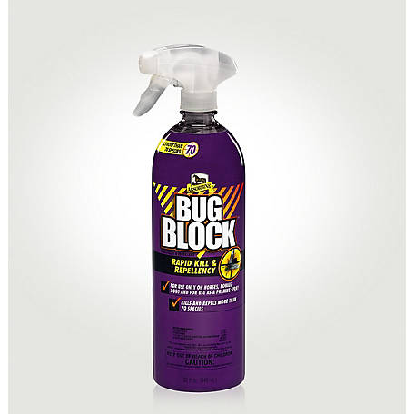 Absorbine Bug Block Insecticide & Repellent, 32 fl. oz., 440925