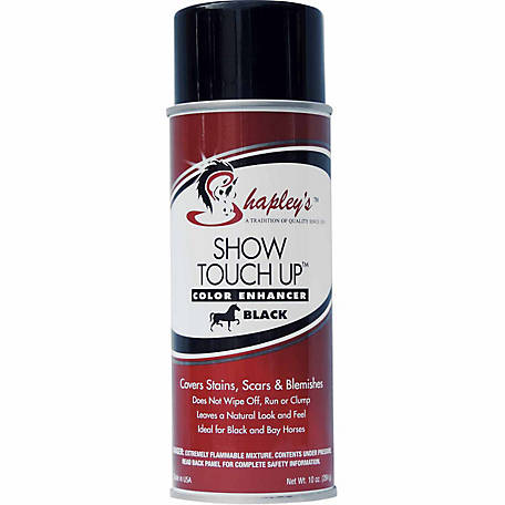 Shapley's Show Touch Up, 10 oz., Black