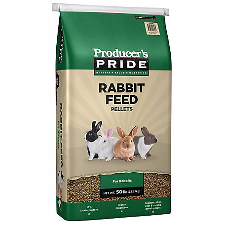 Producer's Pride Rabbit Feed, 50 lb., 46821