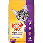 Meow Mix Original Choice Dry Cat Food, 3.15 lb. Bag