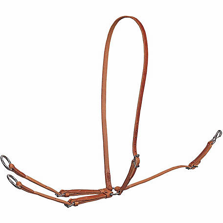 Weaver Leather Standard Running Martingale, Leather