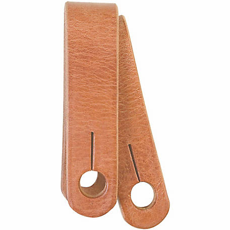 Weaver Leather Basic Single-Ply Harness Leather Slobber Straps